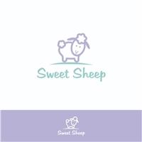 Sweet Sheep, Logo e Cartao de Visita, Crianças & Infantil