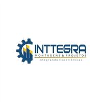 INTTEGRA Montagens e Projetos LTDA, Logo e Cartao de Visita, Metal & Energia