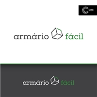 Armário Fácil, Logo e Cartao de Visita, Decoração & Mobília