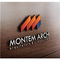 Montem Arch Arquitetura e Urbanismo, Logo e Cartao de Visita, Arquitetura
