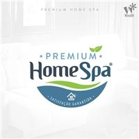 Nome: Premium Home Spa; Reforço da Marca: Satisfação Garantida, Papelaria (6 itens), Limpeza & Serviço para o lar