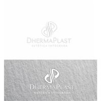 DhermaPlast, Logo e Cartao de Visita, Beleza