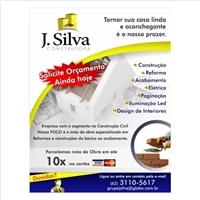 jsilva construtora, Peça Gráfica (unidade), Construção & Engenharia