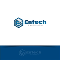Entech Engenharia Ltda - ME, Logo e Cartao de Visita, Construção & Engenharia