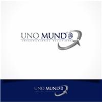 UNO MUNDO Relações Internacionais, Logo e Cartao de Visita, Consultoria de Negócios