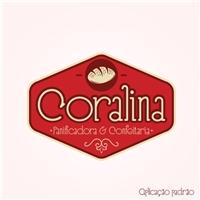 CORALINA Panificadora e Confeitaria Funciona, Logo, Alimentos & Bebidas