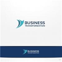 Business Transformation, Logo e Cartao de Visita, Consultoria de Negócios