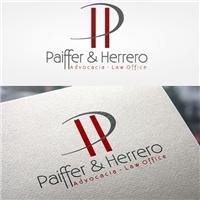 Paiffer & Herrero Advocacia - Law Office, Logo, Advocacia e Direito