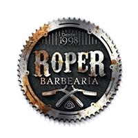 Roper Barbearia, Logo e Cartao de Visita, Beleza