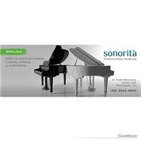 Sonorità Instrumentos Musicais, Layout e-Commerce, Música