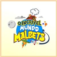 O incrível mundo dos Malbets, Logo e Cartao de Visita, Artes, Música & Entretenimento