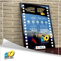 Rio Adventure Films, Layout para Website, Artes, Música & Entretenimento