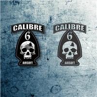 Calibre 6 Airsoft, Logo, Segurança & Vigilância