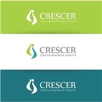 Crescer - Centro Materno Infantil, Logo e Cartao de Visita, Saúde & Nutrição