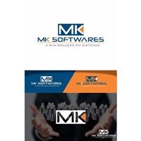 MK SOFTWARES, Logo, Computador & Internet