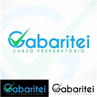 Gabaritos, Logo e Cartao de Visita, Educação & Cursos