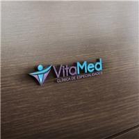 VitaMed Clinica de especialidades, Logo e Cartao de Visita, Saúde & Nutrição