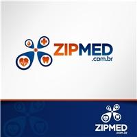 ZIPMED.com.br, Logo e Cartao de Visita, Computador & Internet