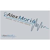 Alex Moriá - Dando voz a sua ideia, Logo, Marketing & Comunicação