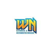 DUAS OPÇÃO 1- WN ELETRÔNICA E INSTRUMENTOS MUSICAIS / 2- AN ELETRÔNICA, Logo e Cartao de Visita, Outros