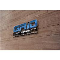 Grid Automóveis / Venda de Veículos Semi Novos e 0 Km, Logo, Automotivo