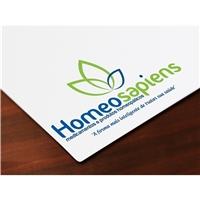 HOMEOSAPIENS, Logo e Cartao de Visita, Saúde & Nutrição