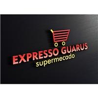 EXPRESSO GUARUS , Logo e Cartao de Visita, Viagens & Lazer