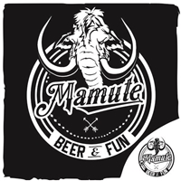 NONE: MAMUTE / TIPO: BAR /ESTILO: BREWPUB, Logo e Cartao de Visita, Alimentos & Bebidas