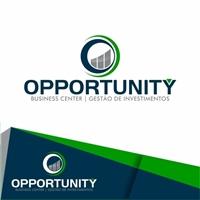 Opportunity Business Center Gestão de investimentos, Logo e Cartao de Visita, Imóveis