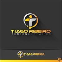 Tiago Ribeiro Personal Trainer, Logo, Saúde & Nutrição