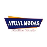 ATUAL MODAS    SLOGAN: NOSSA FAMILIA VESTE A SUA!, Logo e Cartao de Visita, Outros