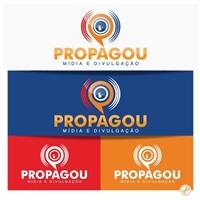 Propagou - Mídia & Divulgação, Logo, Marketing & Comunicação