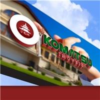 Komatsu Imóveis, Logo, Imóveis