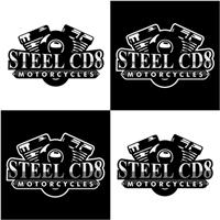 STEEL CD8 MOTORCYCLES, Logo e Cartao de Visita, Outros