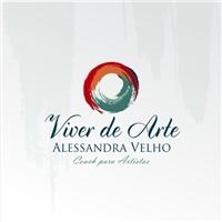 Alessandra Velho - VIVER DE ARTE, Logo, Artes, Música & Entretenimento