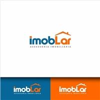 ImobLar Assessoria Imobiliária, Logo e Cartao de Visita, Imóveis