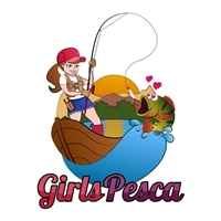 GIRLS PESCA, Logo e Cartao de Visita, Viagens & Lazer