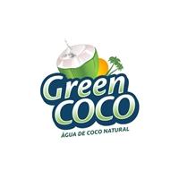 Green COCO, Logo e Cartao de Visita, Alimentos & Bebidas