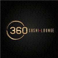 360 Sushi lounge , Logo e Cartao de Visita, Alimentos & Bebidas