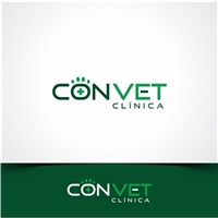 CONVET CLÍNICA, Logo e Cartao de Visita, Animais