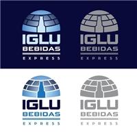 Iglu- Bebidas Express, Logo e Cartao de Visita, Alimentos & Bebidas