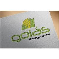 GOIÁS ENERGIA SOLAR, Logo, Construção & Engenharia