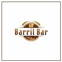 Barril Bar, Logo e Cartao de Visita, Alimentos & Bebidas