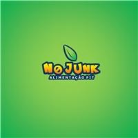 NO JUNK, Logo e Cartao de Visita, Saúde & Nutrição