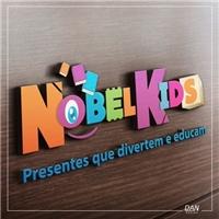 Nobel Kids, presentes que divertem e educam, Logo e Cartao de Visita, Crianças & Infantil