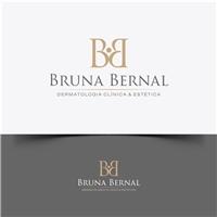 Bruna Bernal - Dermatologia Clínica e Estética , Logo e Cartao de Visita, Saúde & Nutrição