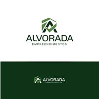 Alvorada Empreendimentos, Logo e Cartao de Visita, Construção & Engenharia