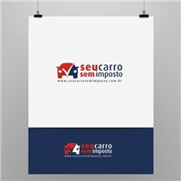 seu carro sem imposto, Logo e Cartao de Visita, Consultoria de Negócios