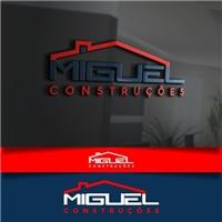 miguel contrucoes , Logo e Cartao de Visita, Construção & Engenharia