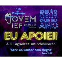 2° Congresso Jovem IEF , Papelaria (6 itens), Religião & Espiritualidade